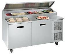 Pizza Prep Tables Prep Table Cutting Board Ebay