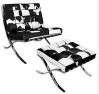 Cowhide Chairs And Ottomans Barcelona Chair In Cowhide Barcelona Chair In Cowhide Suppliers