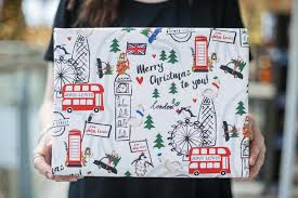 where to get your christmas gifts wrapped in london london
