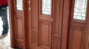 Hanging Prehung Door Interior Door Exterior Door Installation Installing A New Wood Door