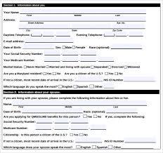 sample medicare forms
