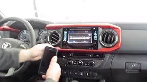 toyota tacoma bluetooth setup connecting smartphone to your bluetooth in 2016 toyota tacoma