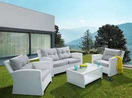 gartenm bel design rattan garden furniture set rattan lounge for garden or terrace
