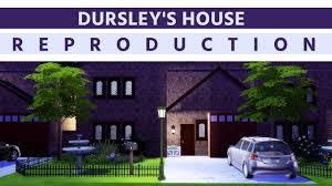 dursley u0027s house harry potter creasims 4 youtube