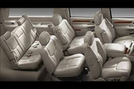 cadillac escalade 8 seater question of the day how many passengers on board