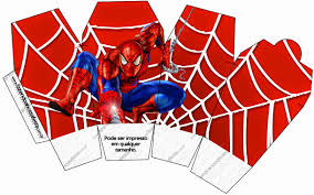 spiderman free printable boxes dorian birthday ideas