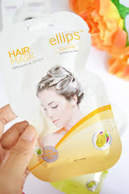 Masker Elips 3 langkah perawatan rambut dengan ellips vitamin perawatan rambut