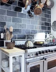 black subway tile kitchen backsplash blue subway tile kitchen backsplash roselawnlutheran