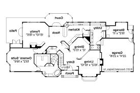 European House Plan by European House Plans Brinton 30 178 Associated Designs