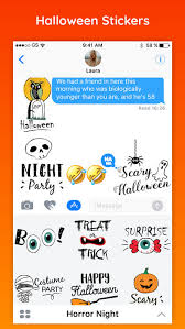 Halloween Stickers Emoji Halloween Party Stickers On The App Store
