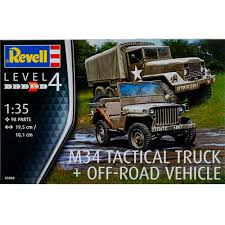tactical truck revell germany 1 35 m34 tactical truck off road vehicle