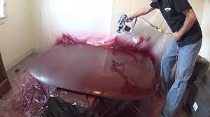 painting car hood with rustoleum and a electric spray gun youtube