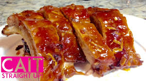 simple pork ribs recipe three ingredient marinade cait