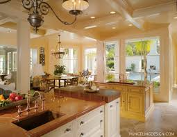 large kitchen layout home design