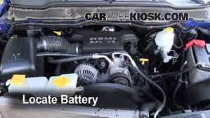 dodge ram v8 how to clean battery corrosion 2006 2008 dodge ram 1500 2007
