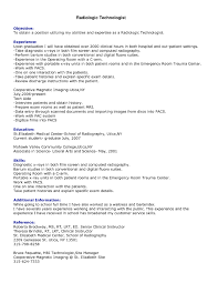 superb radiologic technologist resume 7 x ray resume samples ahoy