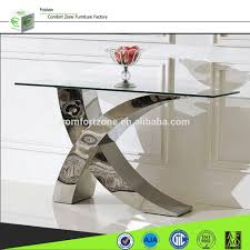 Sofa Table Design Glass X01 Italian Design Glass Modern Console Table With Mirror Buy