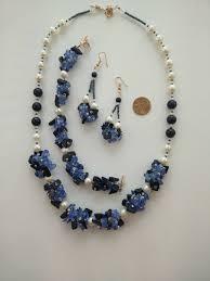 blue quartz bracelet images Sunrise on a winter morning pearl blue quartz gold stone necklace jpg