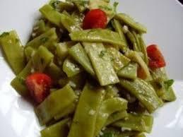 cuisiner coco plat salade fraicheur de haricots vert plats au gingembre et persil