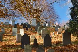 old burial hill in plymouth massachusetts massachusetts