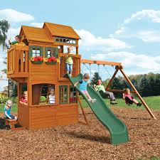 big backyard swing set home outdoor decoration