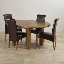 knightsbridge round extending dining table set table 4 chairs
