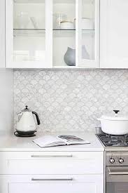White Kitchen Tile Backsplash Best 12 Decorative Kitchen Tile Ideas White Quartz Countertops
