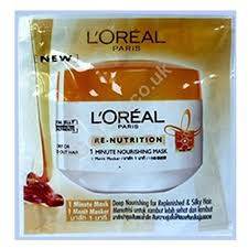 Pelembab Citra Sachet l oreal hair re nutrition masker