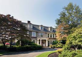 notable stucco colonial revival on market for 4 25m