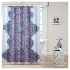 Shower Curtains Purple Green Purple Shower Curtain Target