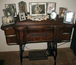 used sewing machine cabinet used sewing machine table treadle sewing machine mom used to display