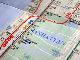Map Metro New York by New York Subway Map U2014 Stock Photo Claudiodivizia 3534868