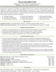 Example Resume Of A Teacher by Science Tutor Cover Letter