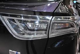 2015 toyota harrier toyota harrier gets a whale of a facelift