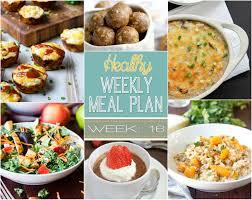 Dinner For The Week Ideas Healthy Meal Plan Week 16 Mariah U0027s Pleasing Plates