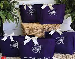 bridal party tote bags bridesmaids gifts amazingly sentimental bridesmaid gifts from
