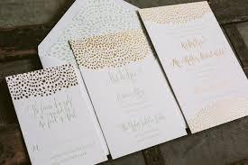 gold foil wedding invitations mint gold foil wedding invitation suite from smock