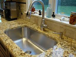 undermount kitchen sink with faucet holes undermount kitchen sink with drop in stainless steel kitchen sinks