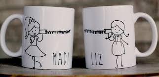 best friend mugs long distance mother daughter mug stocking