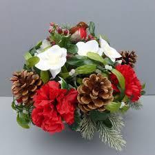 Flower Vase For Grave Grave Flower Arrangements Other Memorials U0026 Funerals Ebay