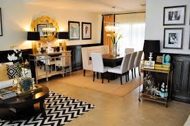 Cool Wonderful Living Rooms Black And Gold Room Live Laugh Decorate A Black White And Gold Reveal