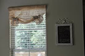 French Country Window Valances Curtains How To Make Diy Burlap Valance Curtains For Your