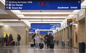 united check in luggage with rise in flight capacity eppley airfield is taking off while