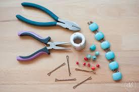 decorative hair pins diy beaded bobby pins oh my creative