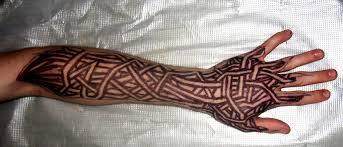lower arm tribal v2 by blade m on deviantart