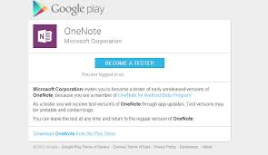 onenote app for android microsoft onenote gets official play store beta if you re into