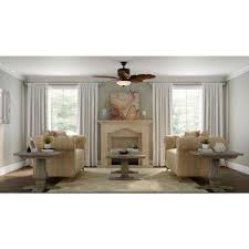 home decorators collection merwry 52 in led indoor matte black home decorators collection ceiling fans ceiling fans