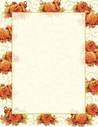 fall harvest table thanksgiving stationery paper 80