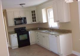 Kitchen Without Cabinets Kitchen Cabinets L Shaped Kitchen Without Island Combined Color
