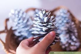 how to make pinecone decorations 6 steps with pictures